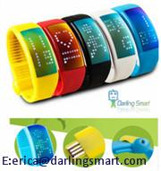 Smart wristband Personalized Signature 3D Pedometer Sensor Step Walking distance Calorie Counter