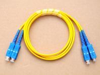 SC/UPC-SC/UPC SM Duplex Fiber Optic Patch Cord