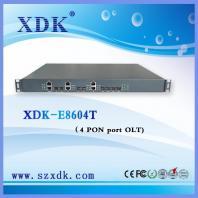 1U FTTX FTTB FTTH GEPON OLT with 4 PON Ports for IPTV CATV