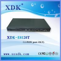 2 PON ports 1U Compact FTTH GEPON OLT /China olt/china factory olt