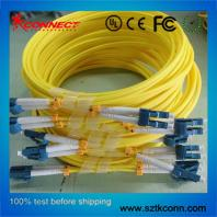 LC-LC SM Duplex Optical Fiber Jumper