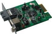 DLX-850K/855GK slide-in Ethernet Fiber Media Converter