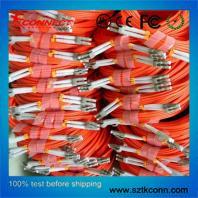 LC-LC MM Duplex Fiber Optic Patch Cord