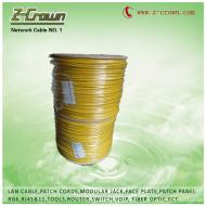 factory offer network cable cat5e and cat6 BC/CCA/CCAG 305m
