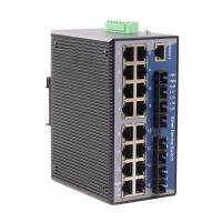 Din-rail Mounted 10/100 Base WEB-managed Industrial Ethernet Switch(MIEN6220-S4/P4)