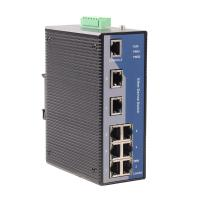 Din-rail Mounted 10/100 Base WEB-managed Industrial Ethernet Switch(MIEN6208)