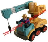 Electric Mighty Movers Crane Truck RTR RC Construction Vehicle