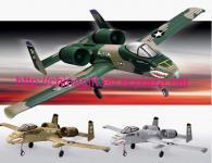 R/C Redio Remote control 4 channels Warthog airplane