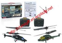 Radio Controlled Infrared Action Helicopter Twin Pack