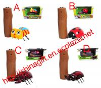 Beetles Story Emulational Beetle Toy with Infrared Remote Control USB Charging