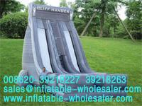 cliff hanger inflatable slides