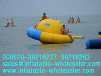 double color planet inflatable water games