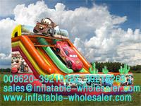 Cars Inflatable Slides