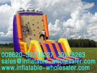 ice mountain climber inflatable sport
