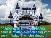 Camelot castle bouncy house