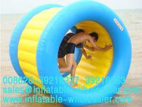 double color roller inflatable water games
