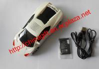Portable Car Model Music MP3 Player Speaker with FM Radio, Micro SD
