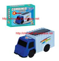 Solar powered Combined Truck Toy