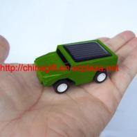 Green DIY solar car kit