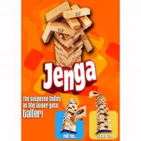 Jenga block financials -Jenga game