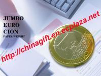 Jumbo Coin Paper Weight / Door Stop