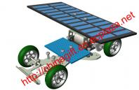 Professional solar car/solar racer - with big solar board