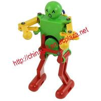 Plastic Wind up Dancing Robot Toy