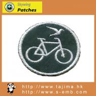 embroidery bike patch