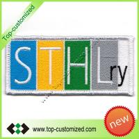 Various Embroidery velcro patch