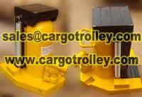 Hydraulic toe jacks operate by manpower