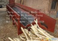 single roller wood log debarker machine