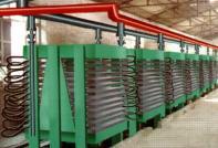 mineral fiber board production line/machine