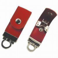 Elegant And Professional Leather Flash Drive