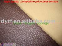sponge laminated leather