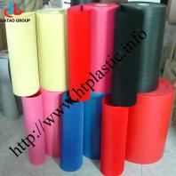 flocked PVC sheet films for packing