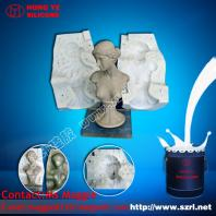 Rtv Liquid Moulding Silicone Rubber for Gypsum Casting Concrete, PU Resin