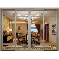 Aluminium Sliding Door, Aluminum Alloy Frame
