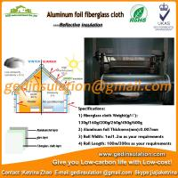 Fiberglass fabric aluminum foil,lagging cloth