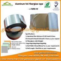 Widely use aluminum foil fiberglass duct tape