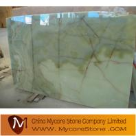 offer green onyx slab