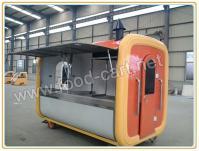 AWF-02Hand Push Type Mobile Food Cart