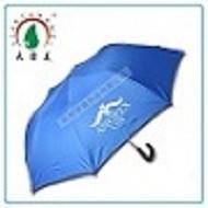 Auto Open 2 Fold Ads Umbrella