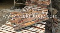 Slate Rusty Brown Ledge Stone, Veneer Panel, Slate Wall Panel, Culture Stone, Wall Cladding