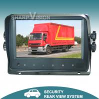 7inch digital lcd car monitor with touch buttons