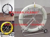 fiberglass conduit rod reel, push rod,reel duct rod