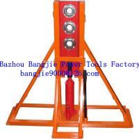 Multihole hydraulic cable drum jacks