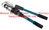 Hydraulic crimping tool Safety system inside CYO-430