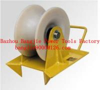 cable roller for well head