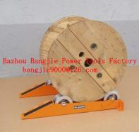 Cable drum jacks/rail type cable drum stands