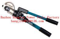 Hydraulic crimping tool Safety system inside CYO-410